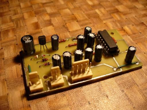 Кнопочный регулятор громкости