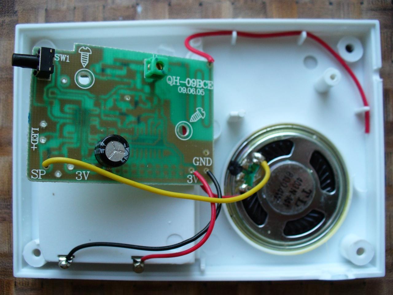 Кнопка беспроводного звонка своими руками 2